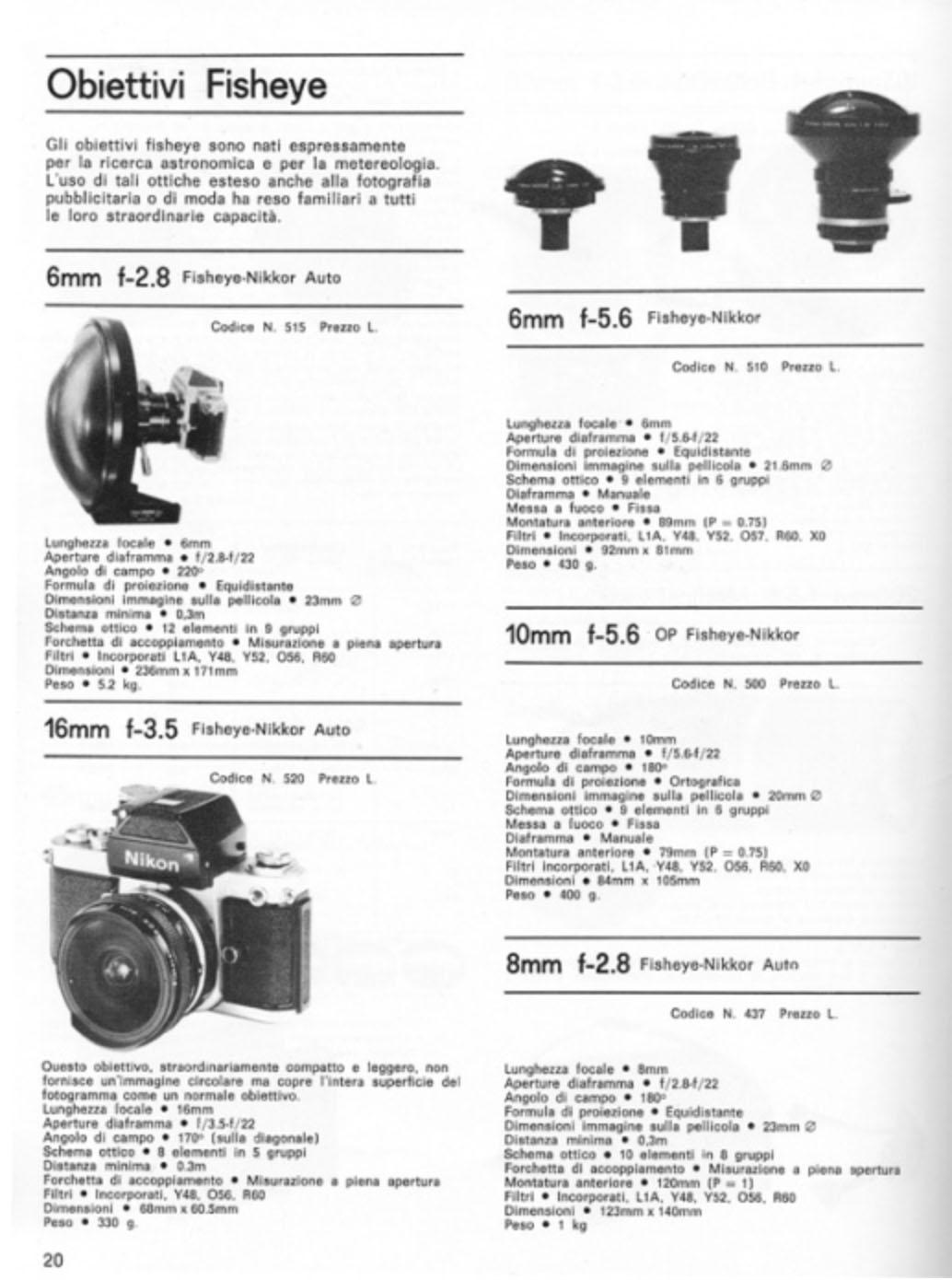 nikon 6mm catalogo